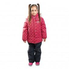 16320 A - Robin - 1860 Красно-розовое плетение с синим полукомбезом